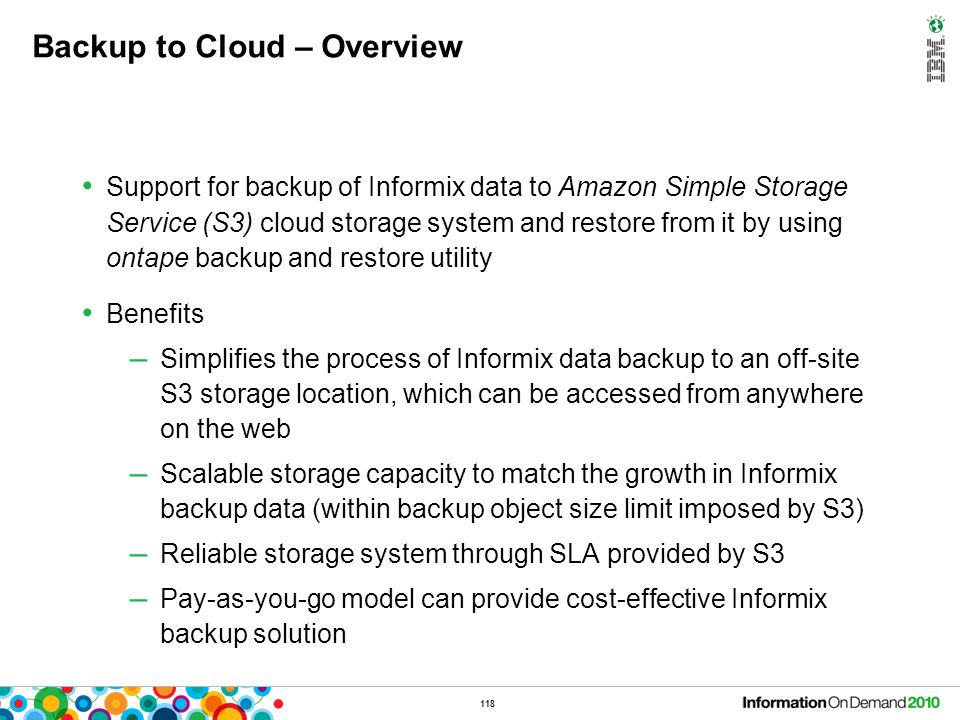 Backup to Cloud – How Backup works