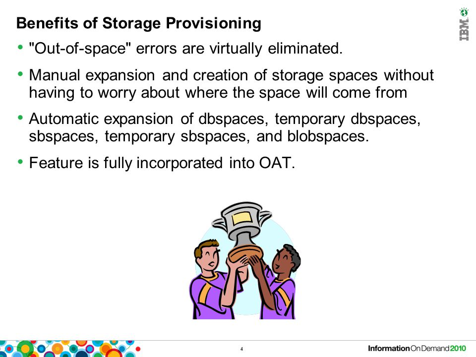 Storage Provisioning: The Power of 2