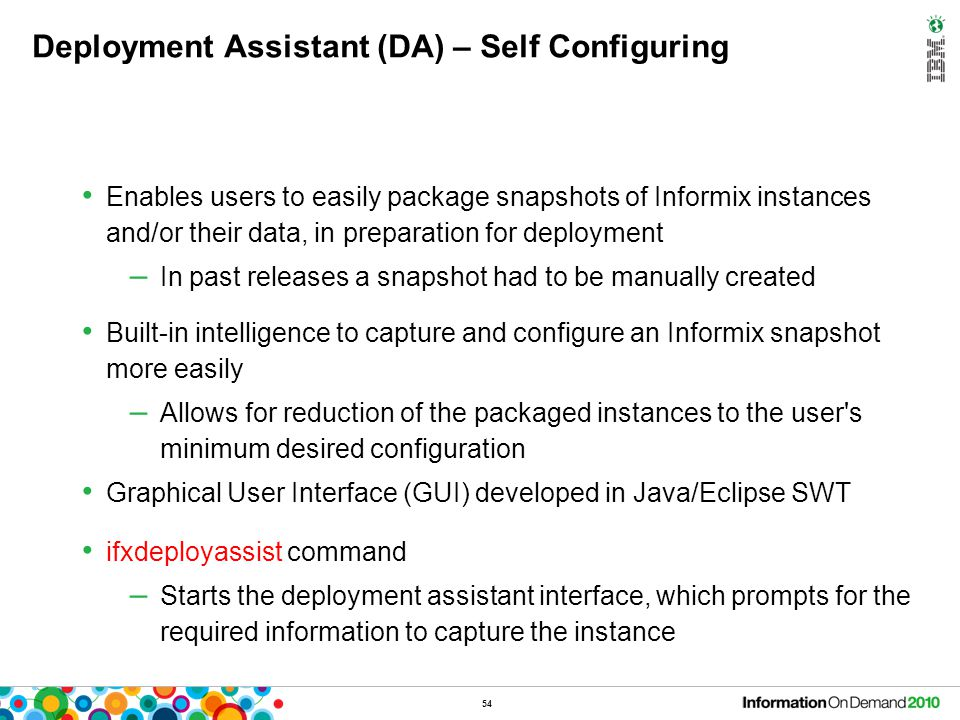 Deployment Assistant (DA) – Packages