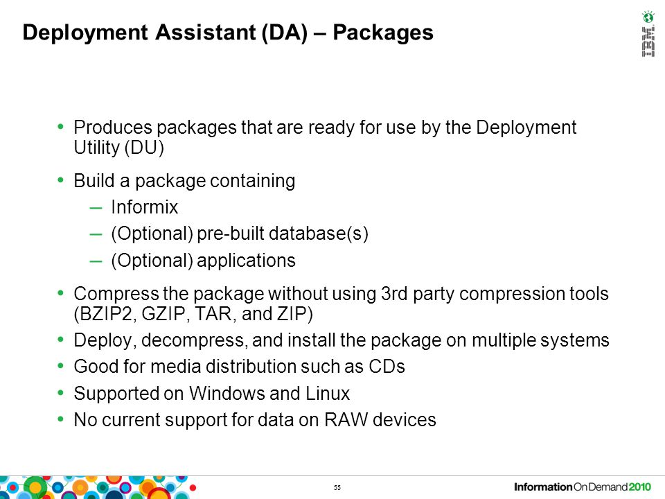Deployment Assistant (DA) – Usage
