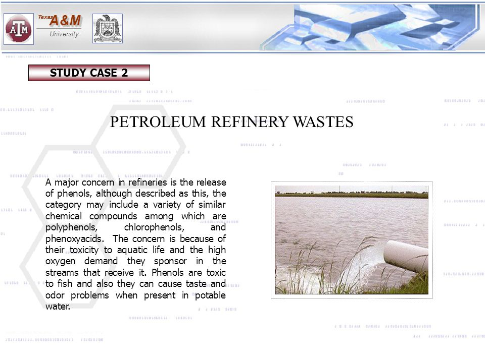PETROLEUM REFINERY WASTES