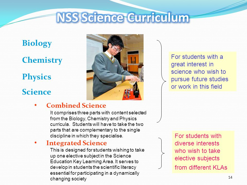 NSS Science Curriculum