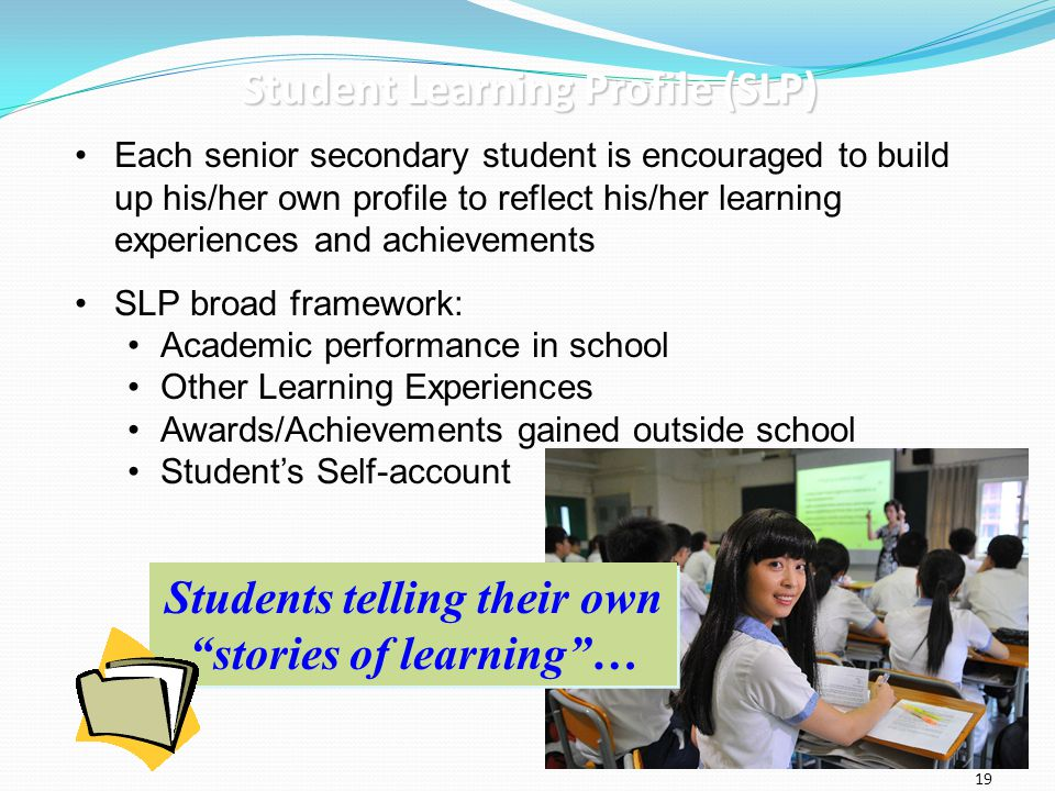 Student Learning Profile (SLP)