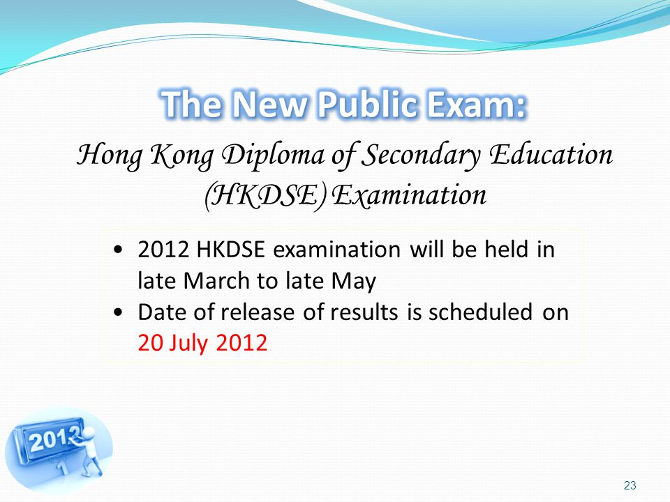 Hong Kong Diploma of Secondary Education (HKDSE) Examination