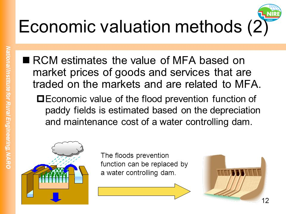 Economic valuation methods (2)