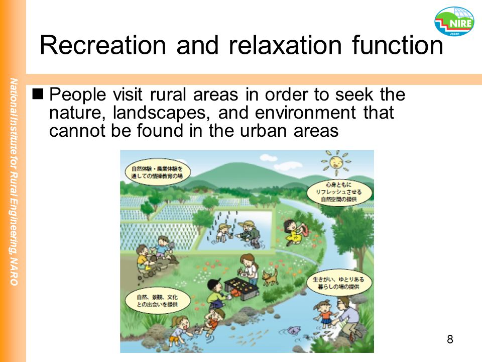 Recreation and relaxation function