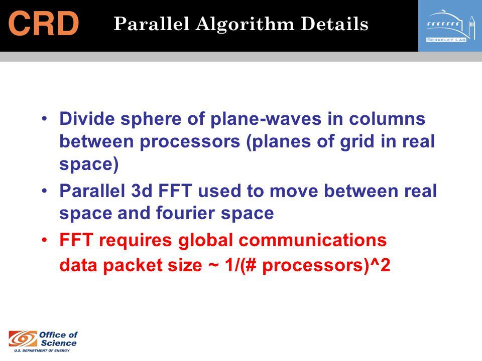 Parallel Algorithm Details