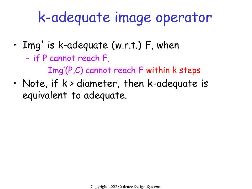 k-adequate image operator