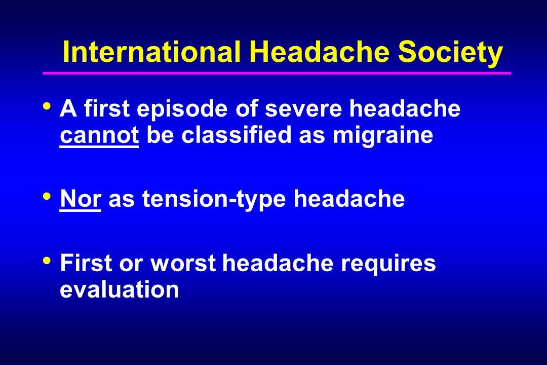 International Headache Society