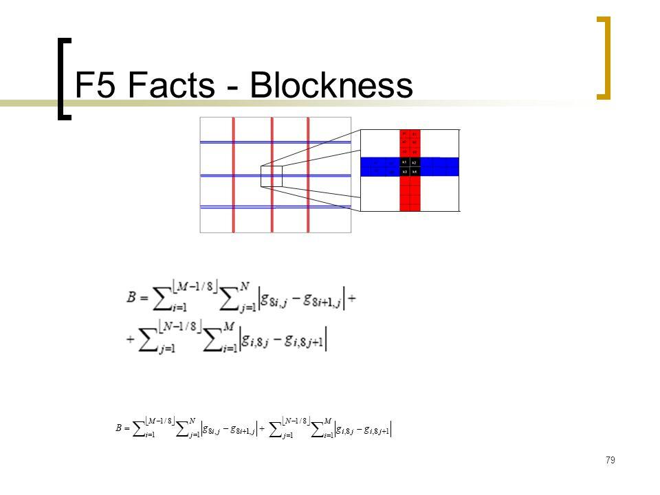 F5 Facts - Blockness