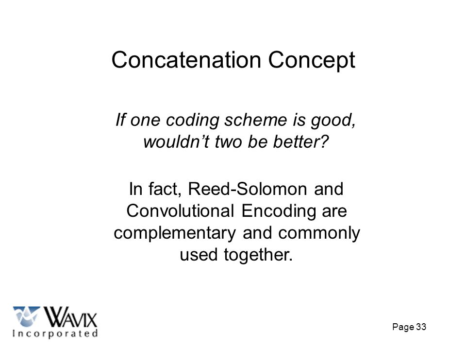 Concatenation Concept