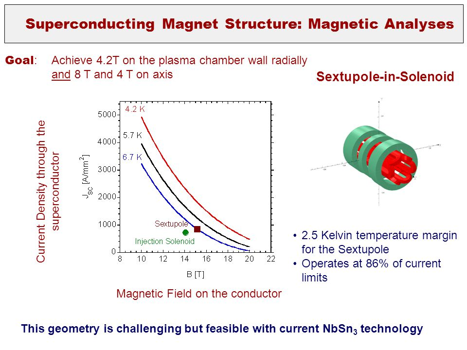 Superconducting Magnet Structure: Magnetic Analyses