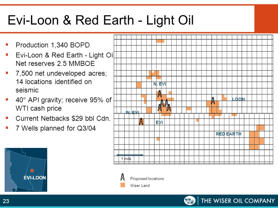 Evi-Loon & Red Earth - Light Oil