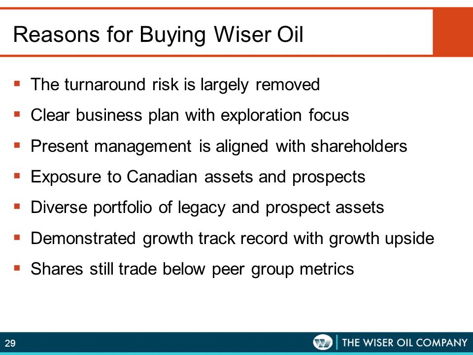 Reasons for Buying Wiser Oil