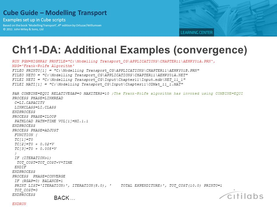 Ch11-DA: Additional Examples (convergence)