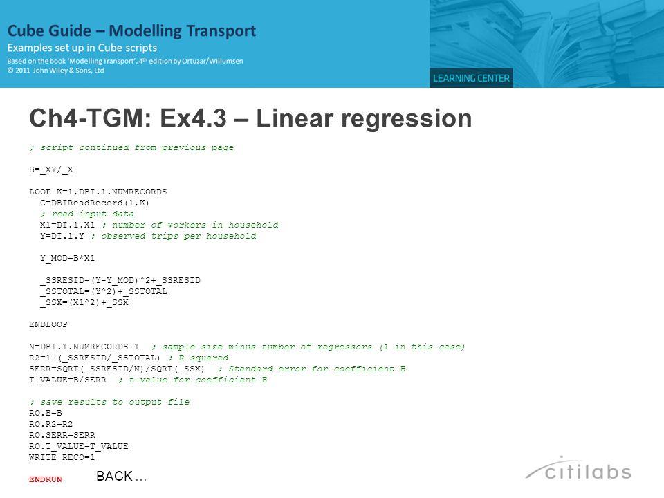 Ch4-TGM: Ex4.3 – Linear regression