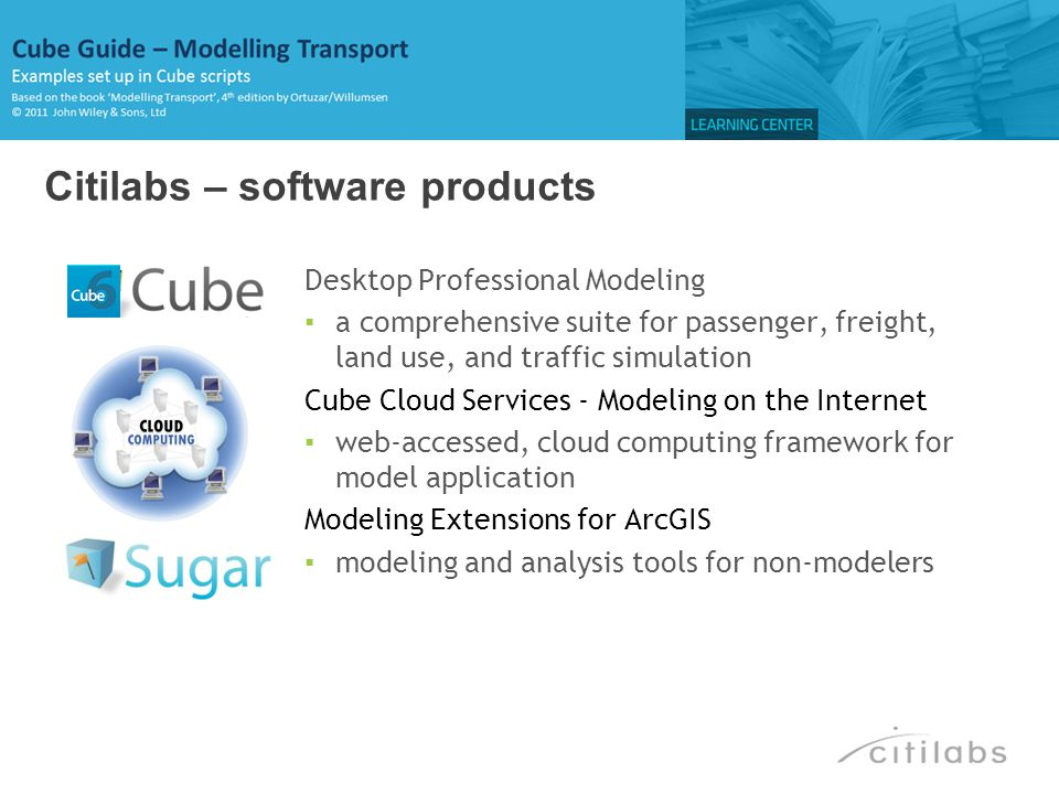 Citilabs – software products