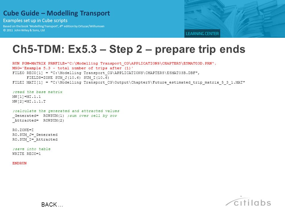 Ch5-TDM: Ex5.3 – Step 2 – prepare trip ends