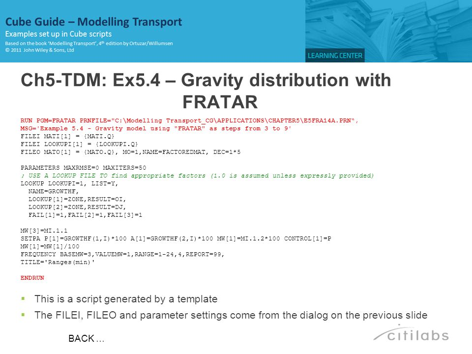 Ch5-TDM: Ex5.4 – Gravity distribution with FRATAR