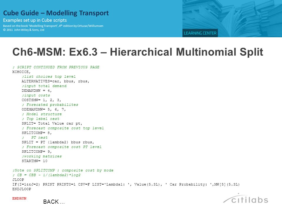 Ch6-MSM: Ex6.3 – Hierarchical Multinomial Split