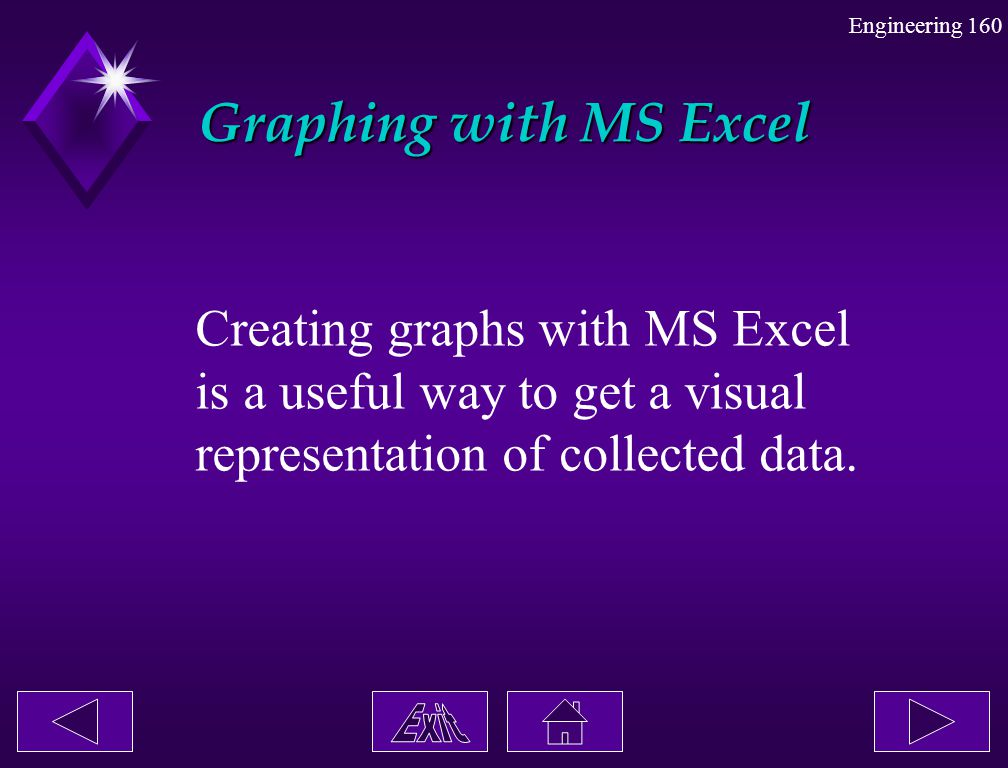 Graphing with MS Excel Creating graphs with MS Excel