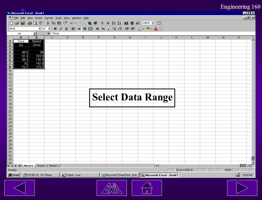 Select Data Range