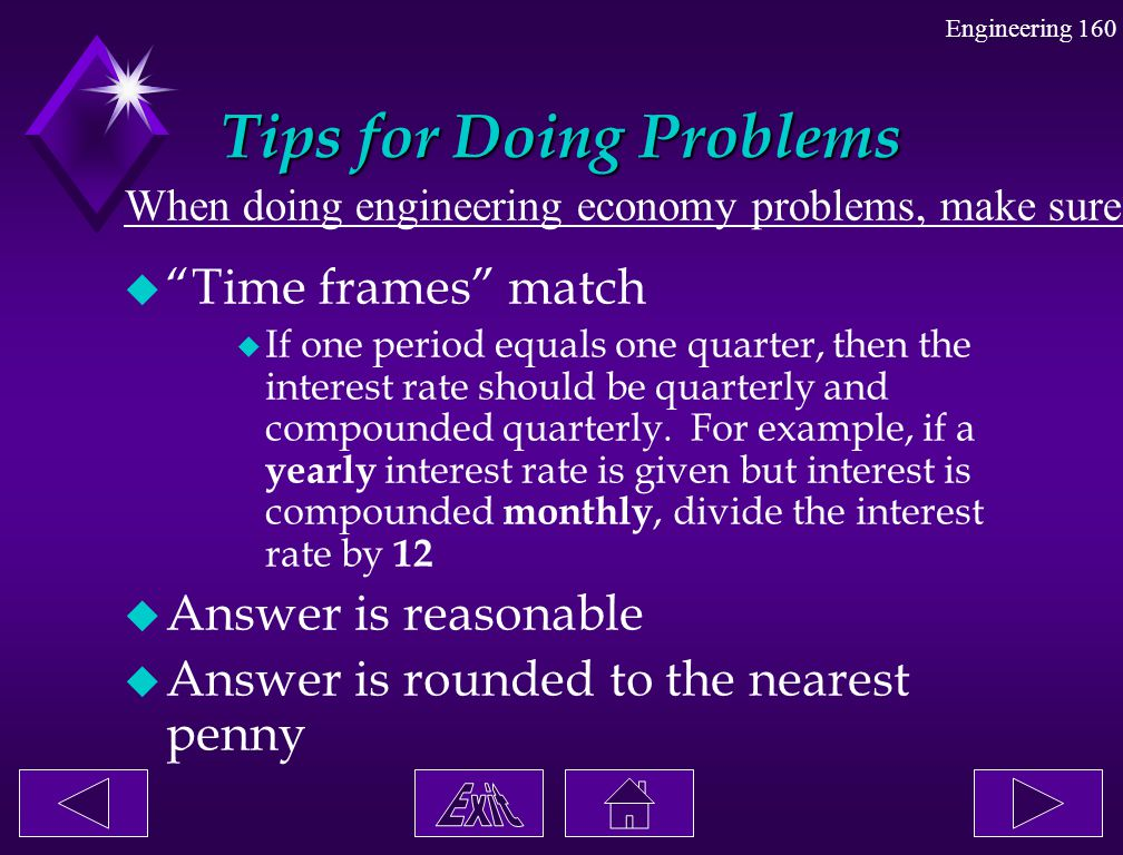 Tips for Doing Problems