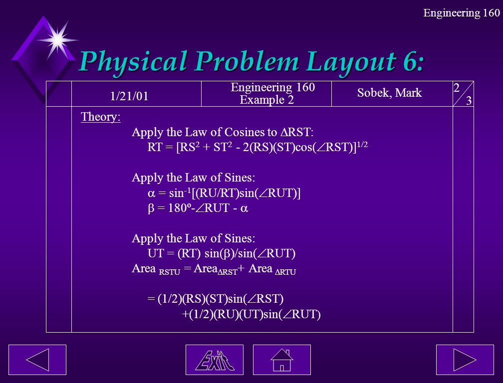 Physical Problem Layout 6: