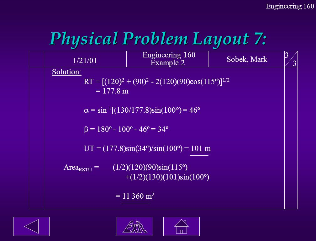 Physical Problem Layout 7:
