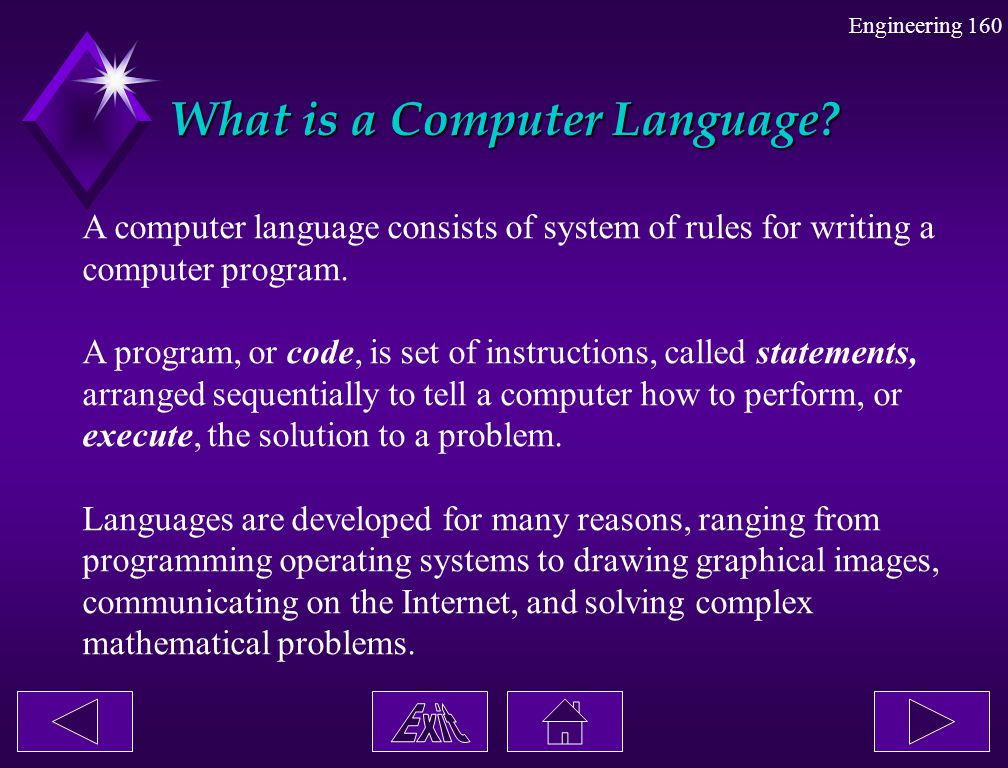 What is a Computer Language