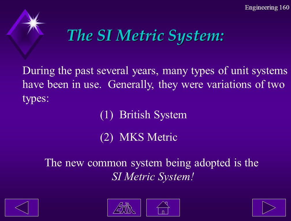 The new common system being adopted is the
