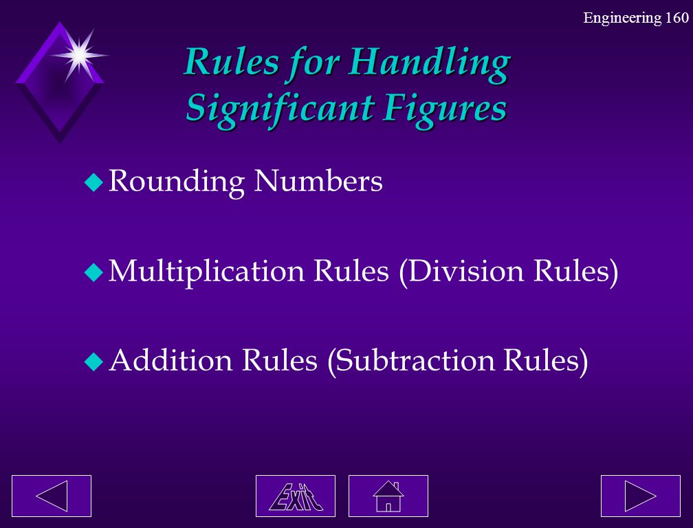 Rules for Handling Significant Figures