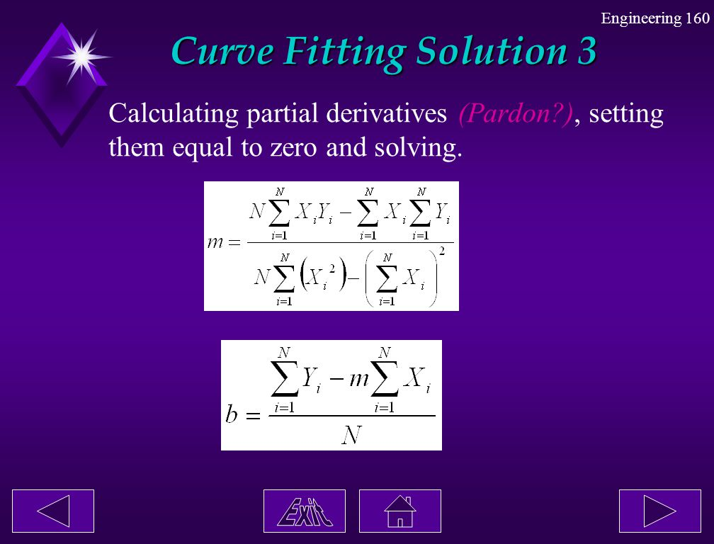 Curve Fitting Solution 3