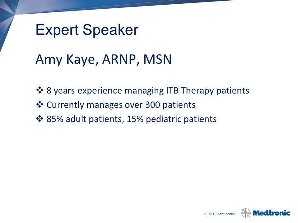 Expert Speaker Amy Kaye, ARNP, MSN