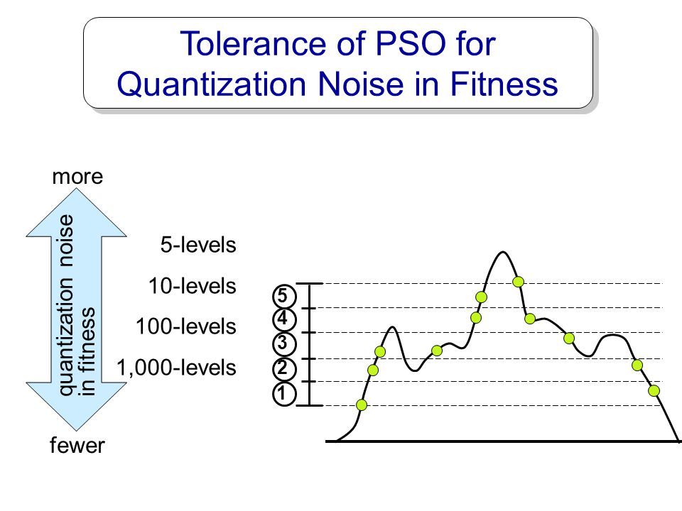 Tolerance of PSO for Quantization Noise in Fitness