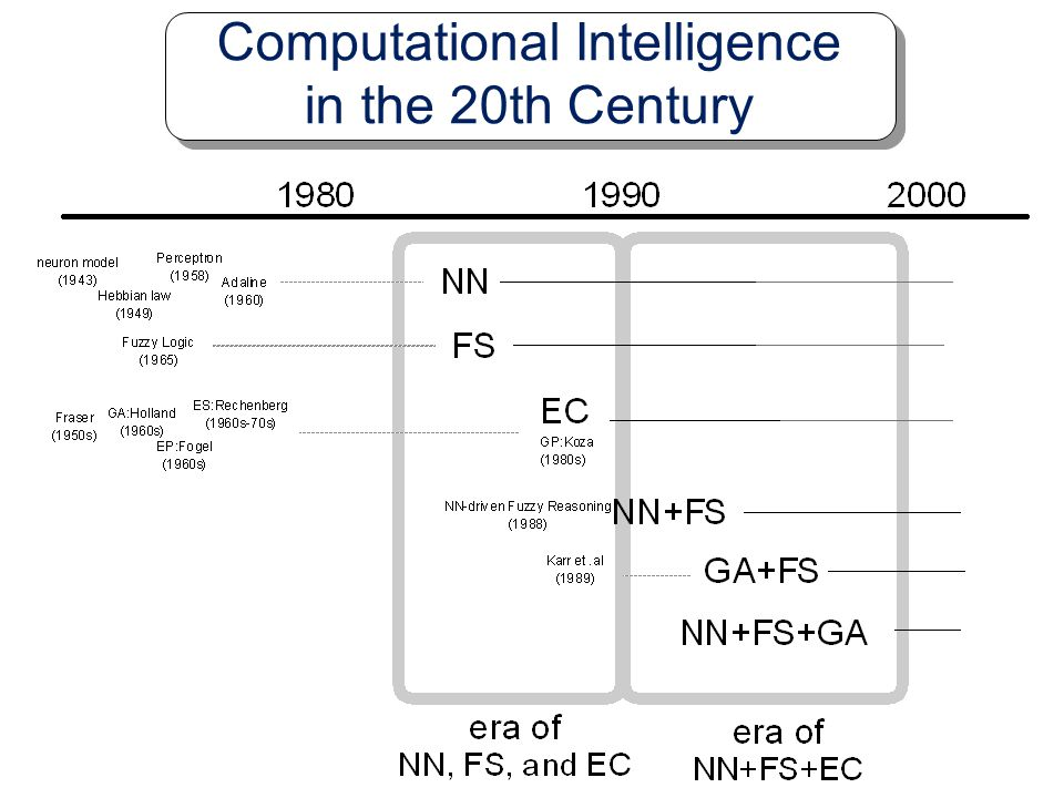 Computational Intelligence in the 20th Century
