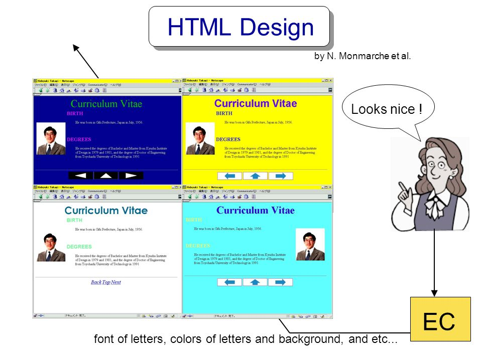HTML Design EC Looks nice !