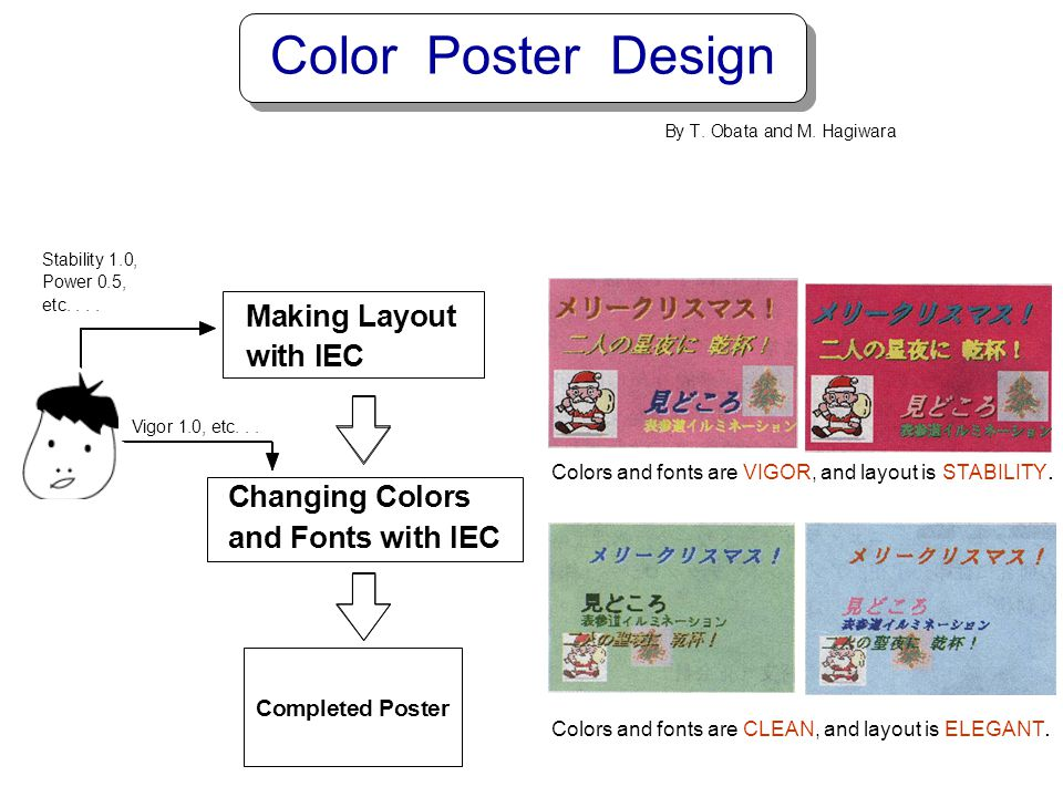 Color Poster Design C h a n g i o l r s d F t w I E M k L y u m p
