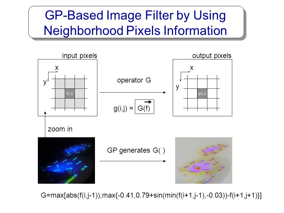 GP-Based Image Filter by Using Neighborhood Pixels Information