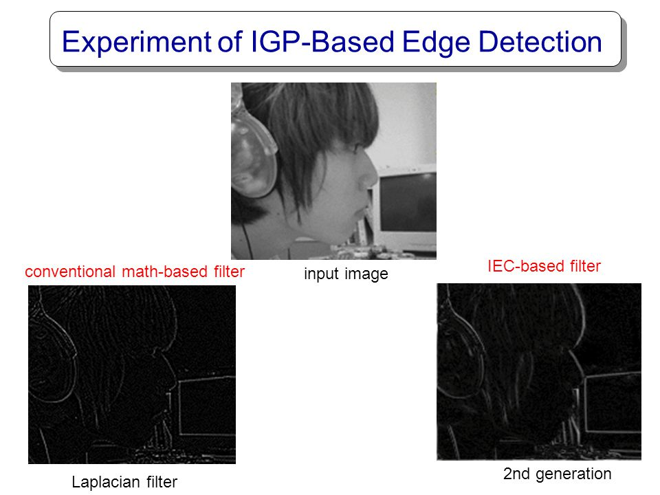 Experiment of IGP-Based Edge Detection