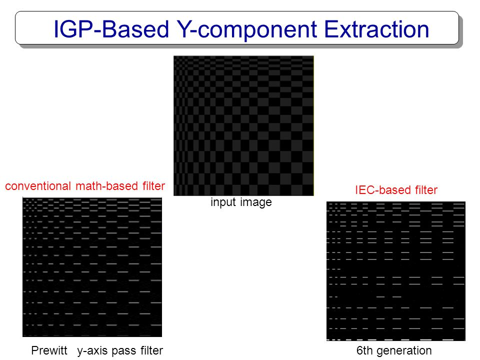 IGP-Based Y-component Extraction
