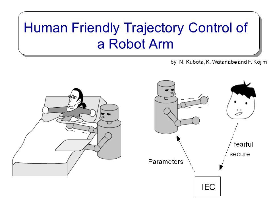 Human Friendly Trajectory Control of a Robot Arm