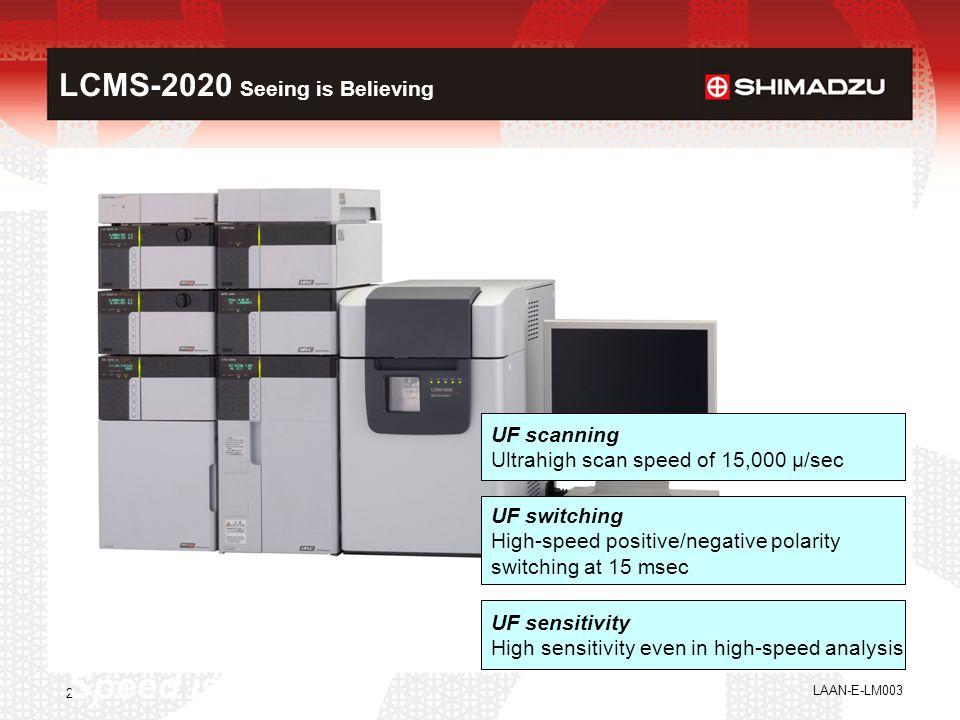 LCMS-2020 Seeing is Believing