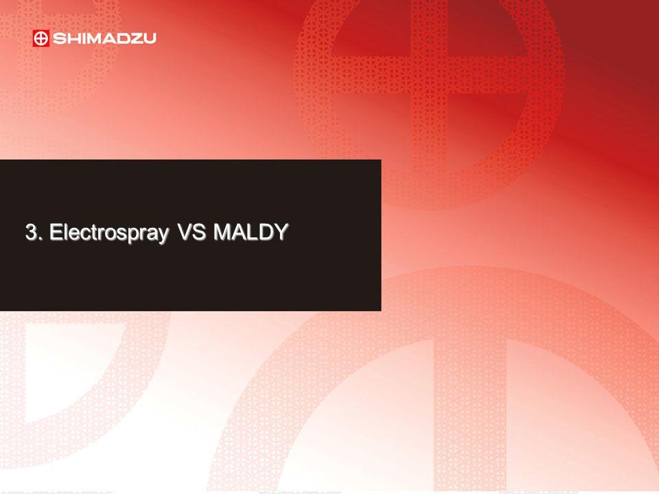 3. Electrospray VS MALDY LAAN-E-LM003