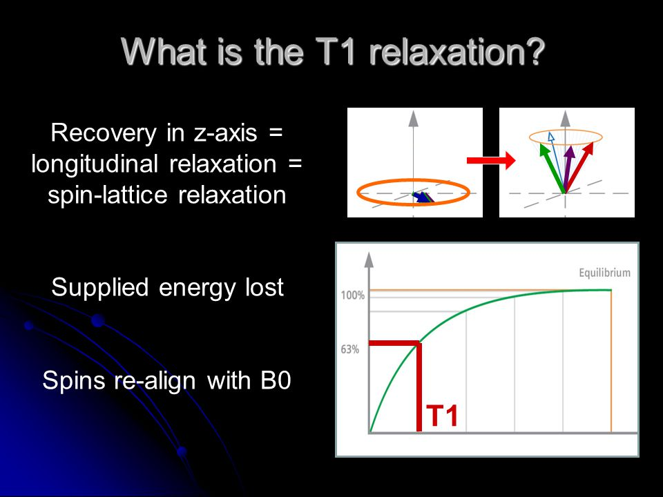 What is the T1 relaxation