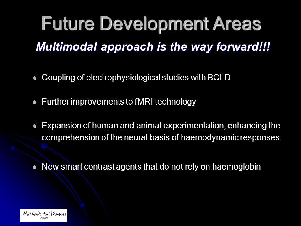 Future Development Areas