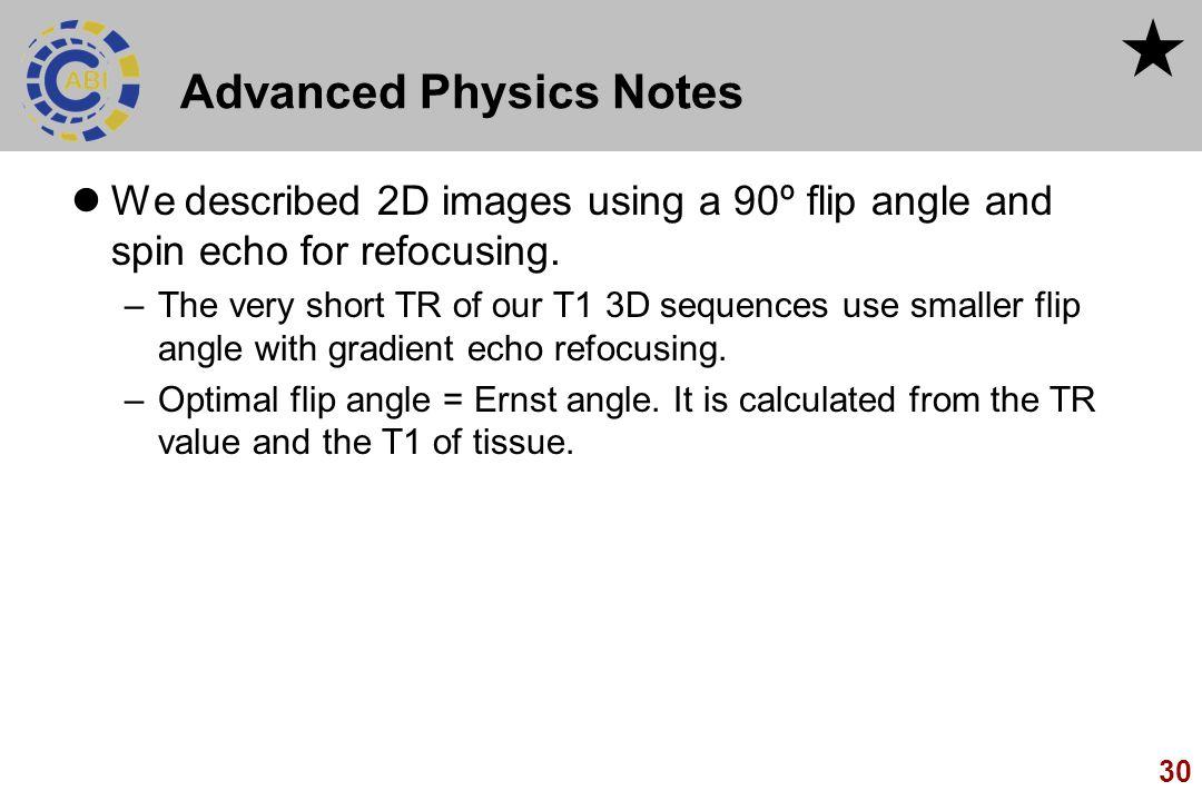 Advanced Physics Notes