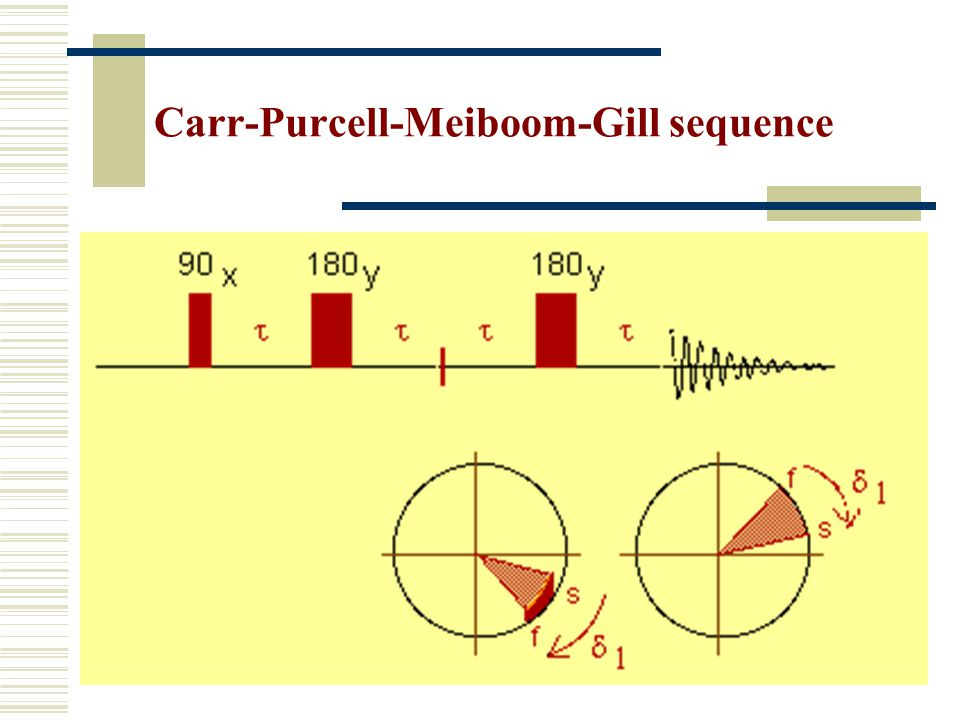 Carr-Purcell-Meiboom-Gill sequence