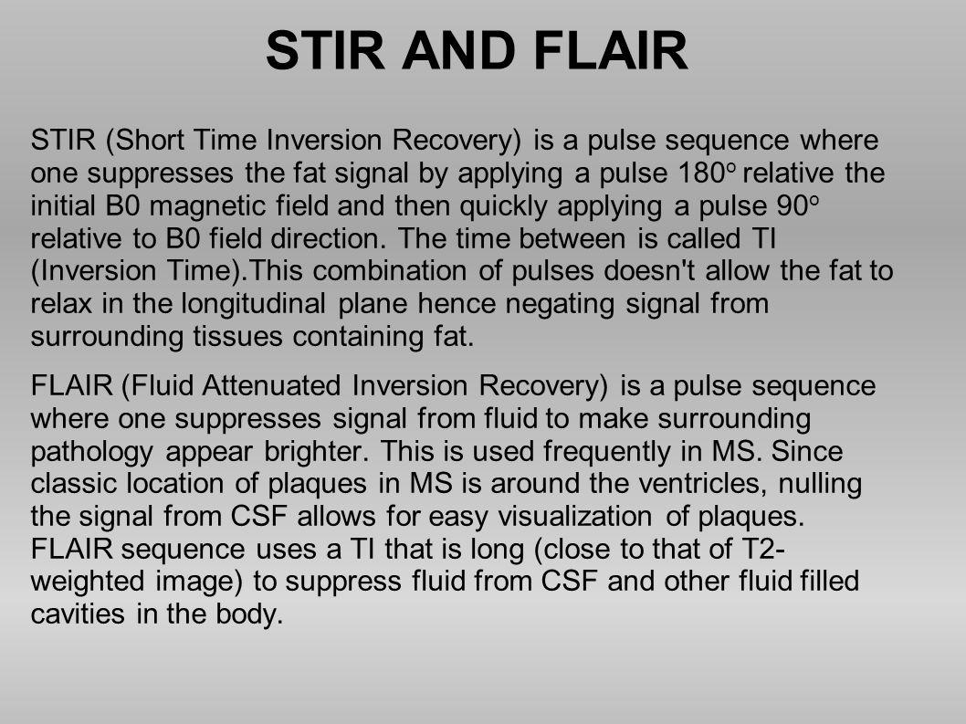 STIR AND FLAIR