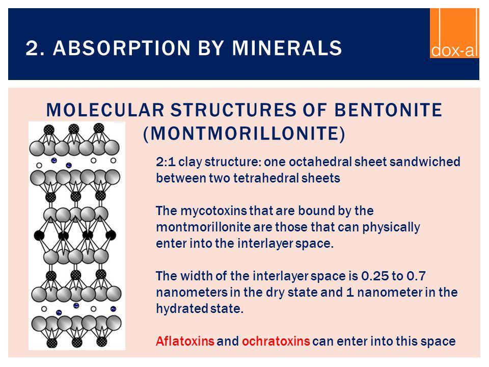 Molecular structures of Bentonite (Montmorillonite)